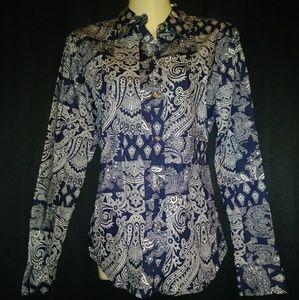 Chaps Paisley Shirt
